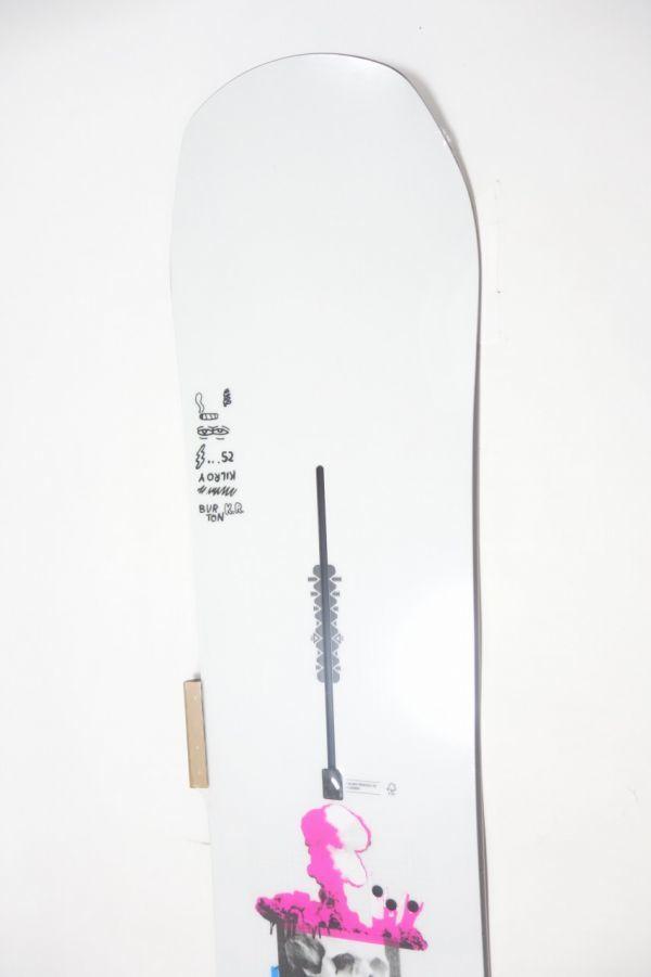 新品未使用 18/19 2019年 BURTON バートン キルロイプロセス 152cm KILROY PROCESS スノーボード 板 キャンバー_画像3