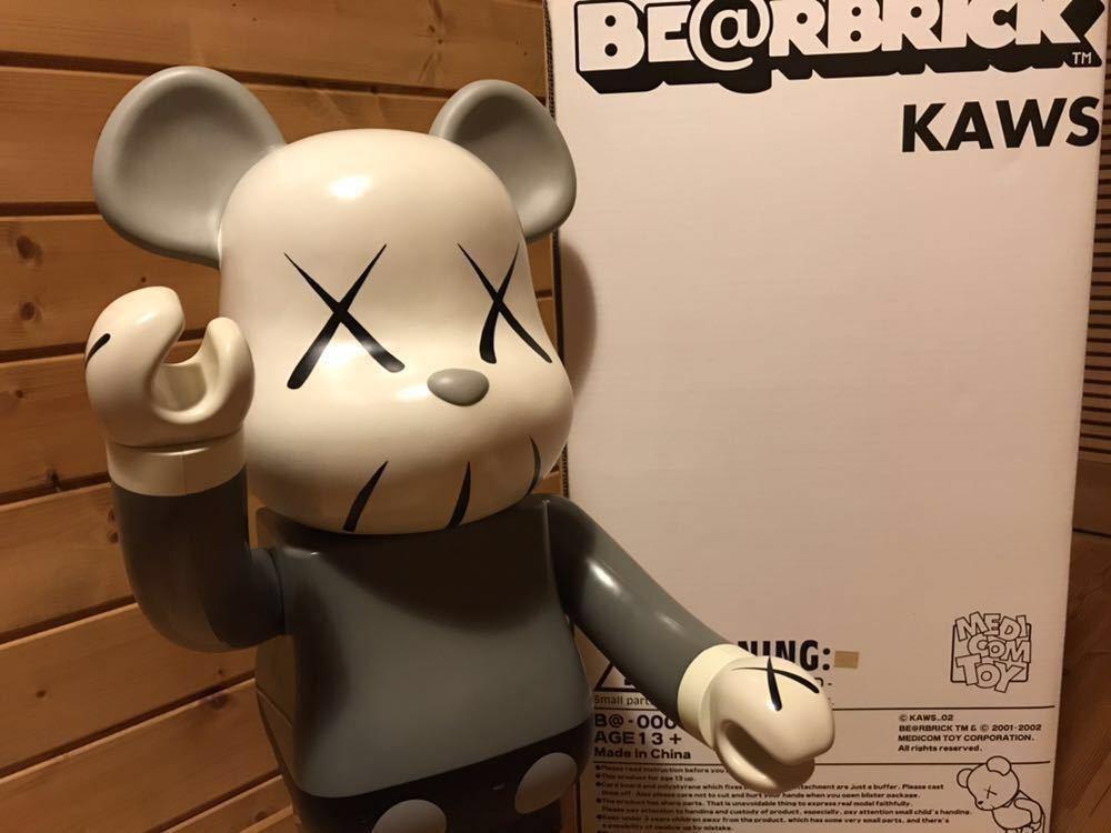 BE@RBRICK ベアブリック 1000% KAWS カウズ 1st メディコムトイ