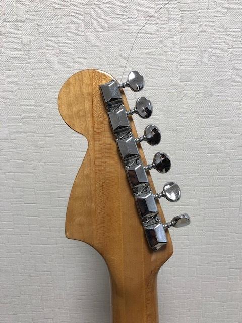 貴重 ジャパンヴィンテージ ビザールギター Greco(グレコ) グネコロゴ ストラトタイプエレキギター_画像4