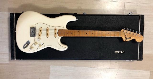 貴重 ジャパンヴィンテージ ビザールギター Greco(グレコ) グネコロゴ ストラトタイプエレキギター_画像10
