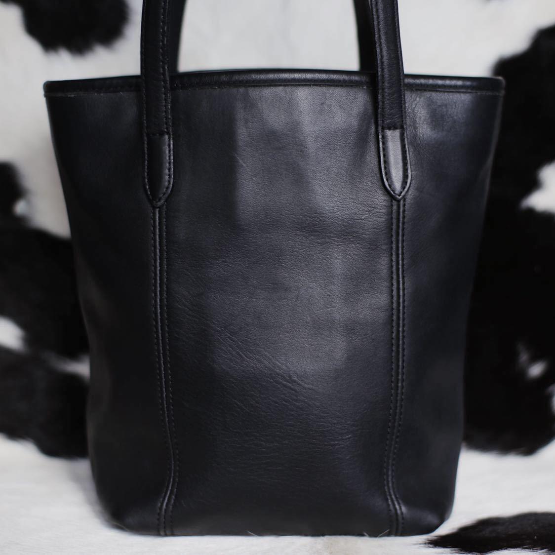 極美品 美品 コーチ COACH トートバッグ バッグ ビジネスバッグ 黒 ブラック レザー メンズバッグ 革 15万 オールドコーチ ビンテージ B5_画像2