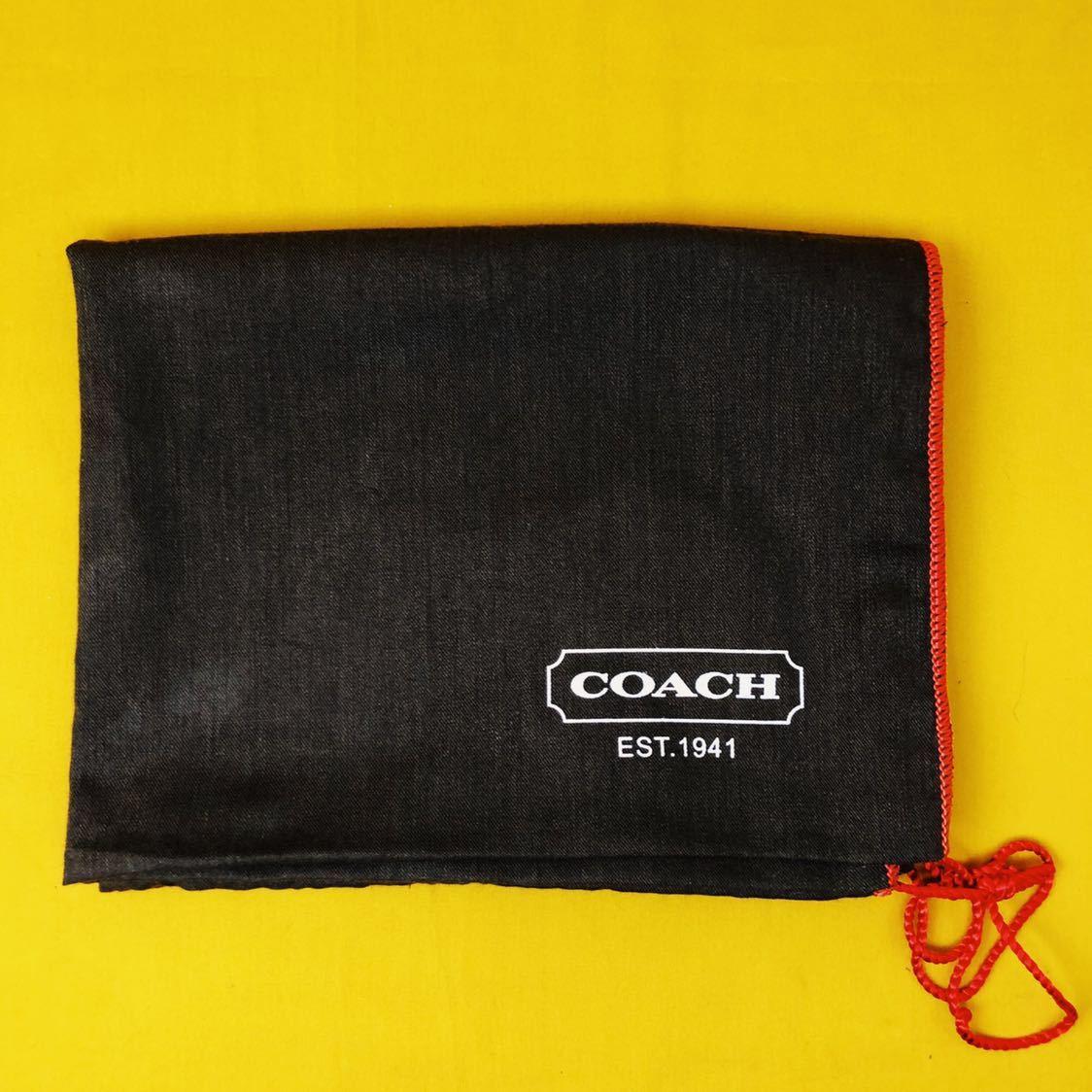 未使用品 美品 コーチ COACH トートバッグ バッグ ビジネスバッグ 黒 ブラック レザー メンズバッグ 革 14万 オールドコーチ ビンテージ _画像9