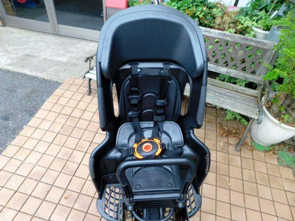 2014年モデル 子供乗せ3人乗り対応! ヤマハ PAS Babby PM20B マットブラック 8.7Ah 車体&バッテリー良好! 自308_画像10