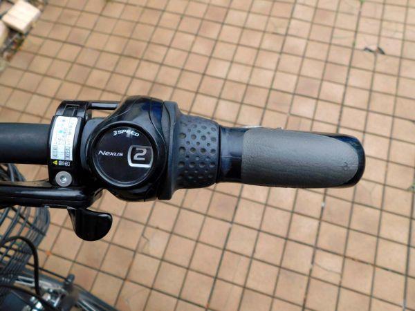 2014年モデル 子供乗せ3人乗り対応! ヤマハ PAS Babby PM20B マットブラック 8.7Ah 車体&バッテリー良好! 自308_画像6