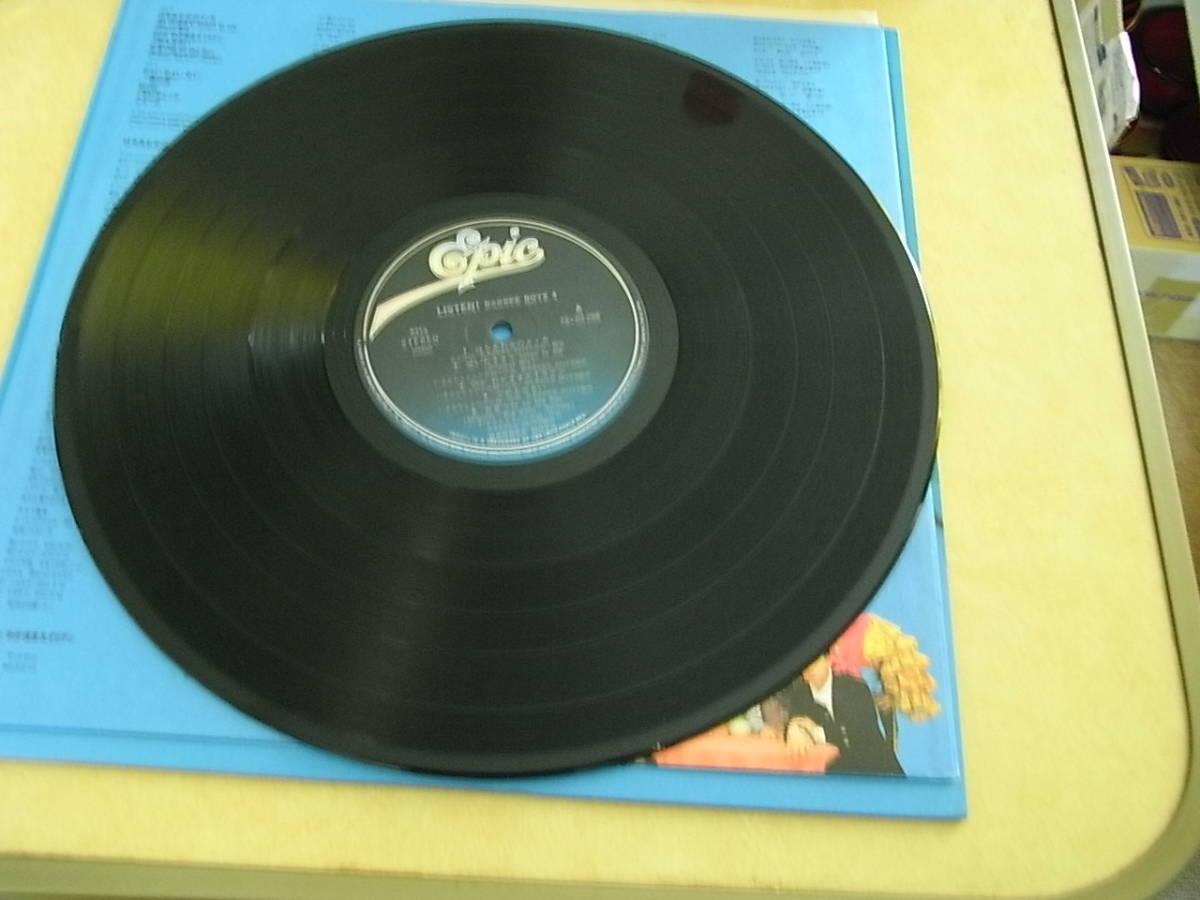 LPレコード バービーボーイズ 「Listen」_画像5