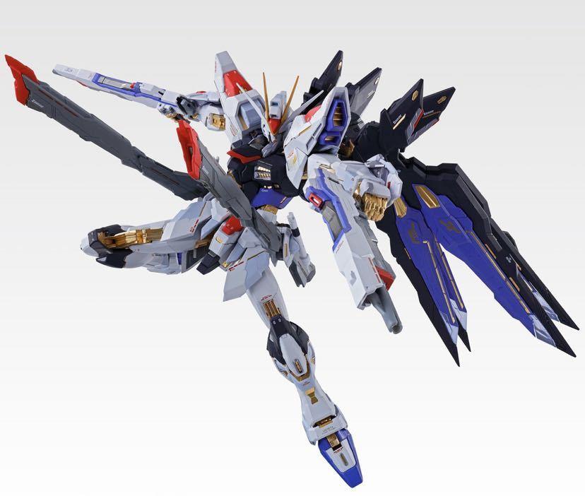【新品未開封】METAL BUILD ストライクフリーダムガンダム SOUL BLUE Ver. メタルビルド 機動戦士ガンダム_画像6