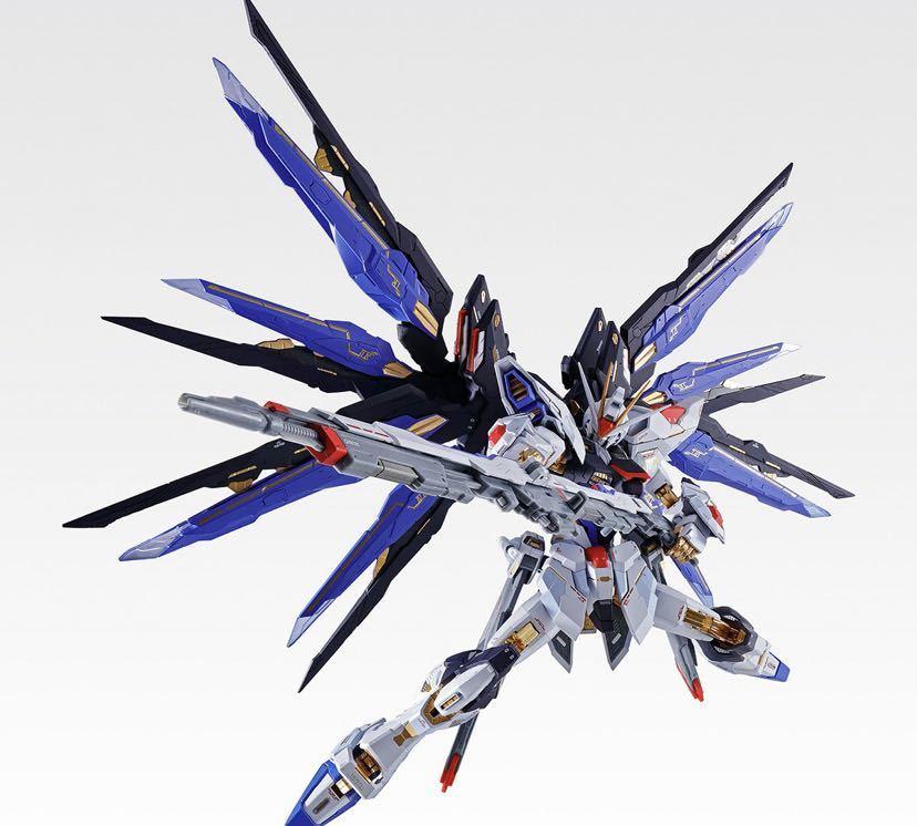 【新品未開封】METAL BUILD ストライクフリーダムガンダム SOUL BLUE Ver. メタルビルド 機動戦士ガンダム_画像5