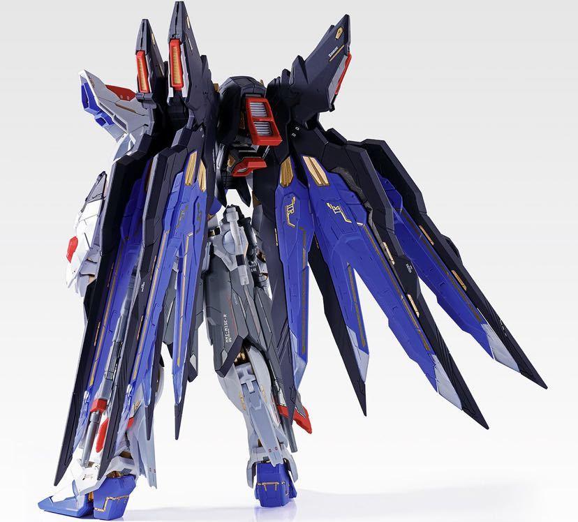 【新品未開封】METAL BUILD ストライクフリーダムガンダム SOUL BLUE Ver. メタルビルド 機動戦士ガンダム_画像3