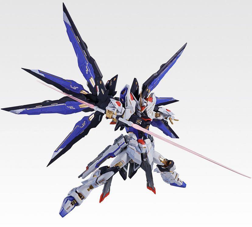 【新品未開封】METAL BUILD ストライクフリーダムガンダム SOUL BLUE Ver. メタルビルド 機動戦士ガンダム_画像8