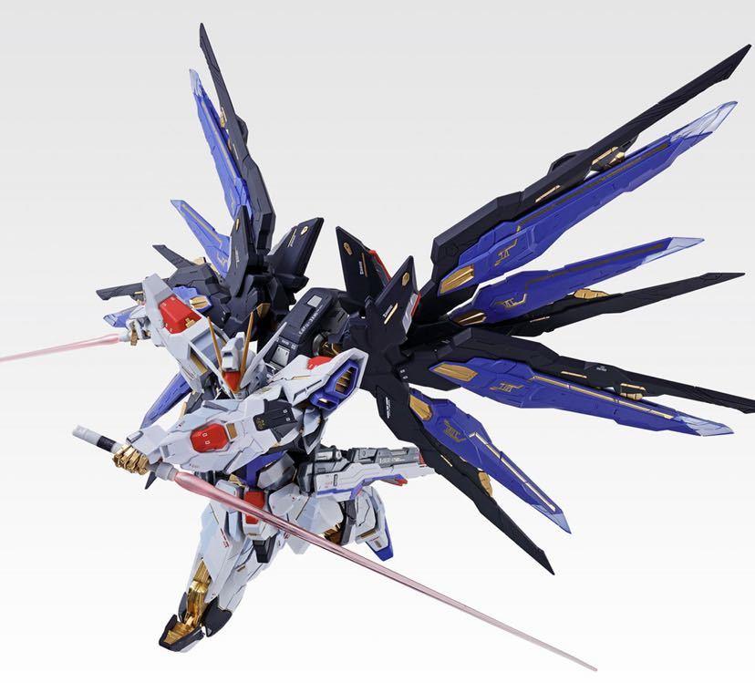 【新品未開封】METAL BUILD ストライクフリーダムガンダム SOUL BLUE Ver. メタルビルド 機動戦士ガンダム_画像9