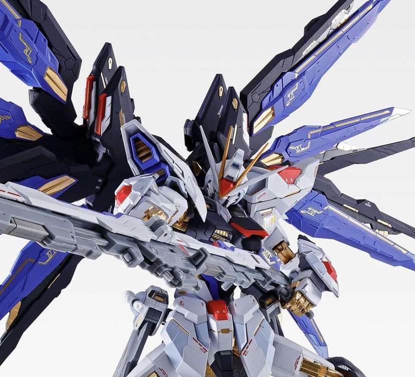 【新品未開封】METAL BUILD ストライクフリーダムガンダム SOUL BLUE Ver. メタルビルド 機動戦士ガンダム_画像2