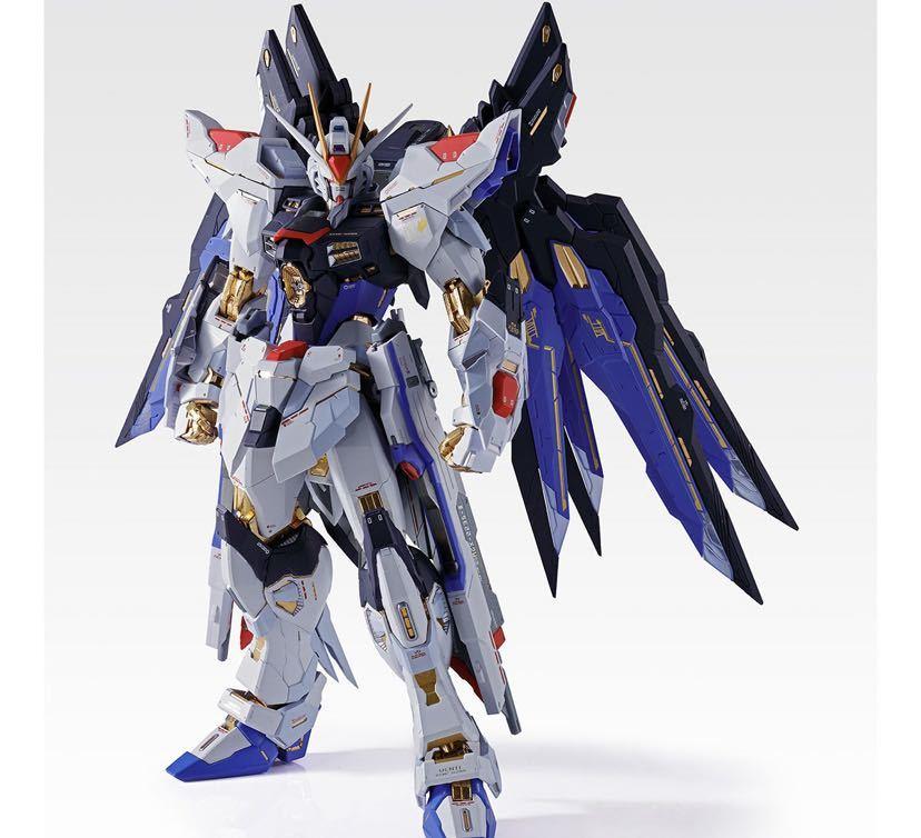 【新品未開封】METAL BUILD ストライクフリーダムガンダム SOUL BLUE Ver. メタルビルド 機動戦士ガンダム