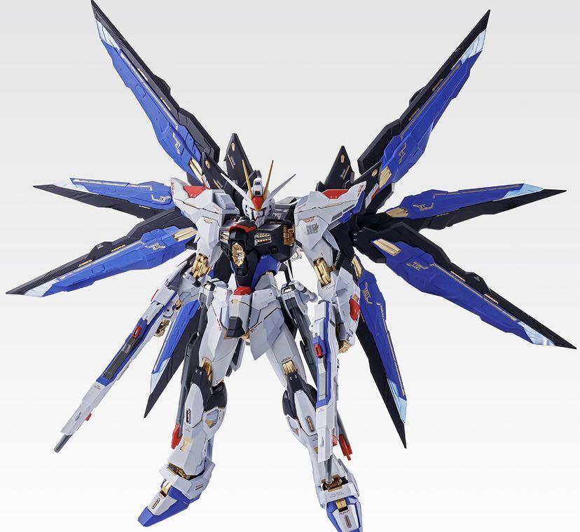 【新品未開封】METAL BUILD ストライクフリーダムガンダム SOUL BLUE Ver. メタルビルド 機動戦士ガンダム_画像4
