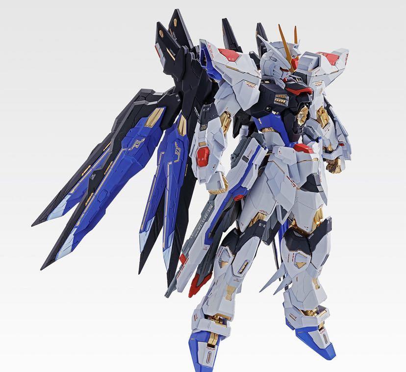 【新品未開封】METAL BUILD ストライクフリーダムガンダム SOUL BLUE Ver. メタルビルド 機動戦士ガンダム_画像7