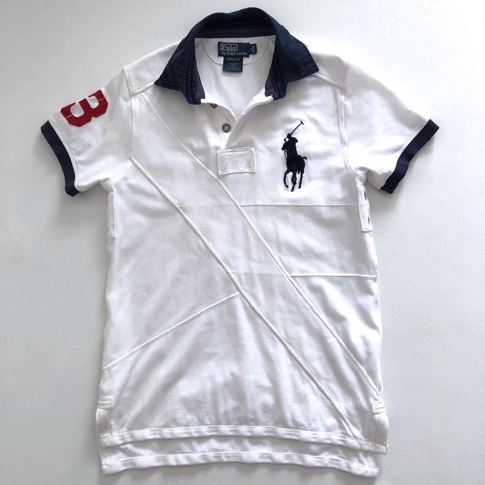 ポロ ラルフローレン ビッグポロ 3ナンバリング 半袖ポロシャツ サイズ M 175/98A POLO by RALPH LAUREN