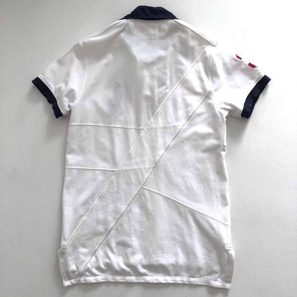 ポロ ラルフローレン ビッグポロ 3ナンバリング 半袖ポロシャツ サイズ M 175/98A POLO by RALPH LAUREN_画像2