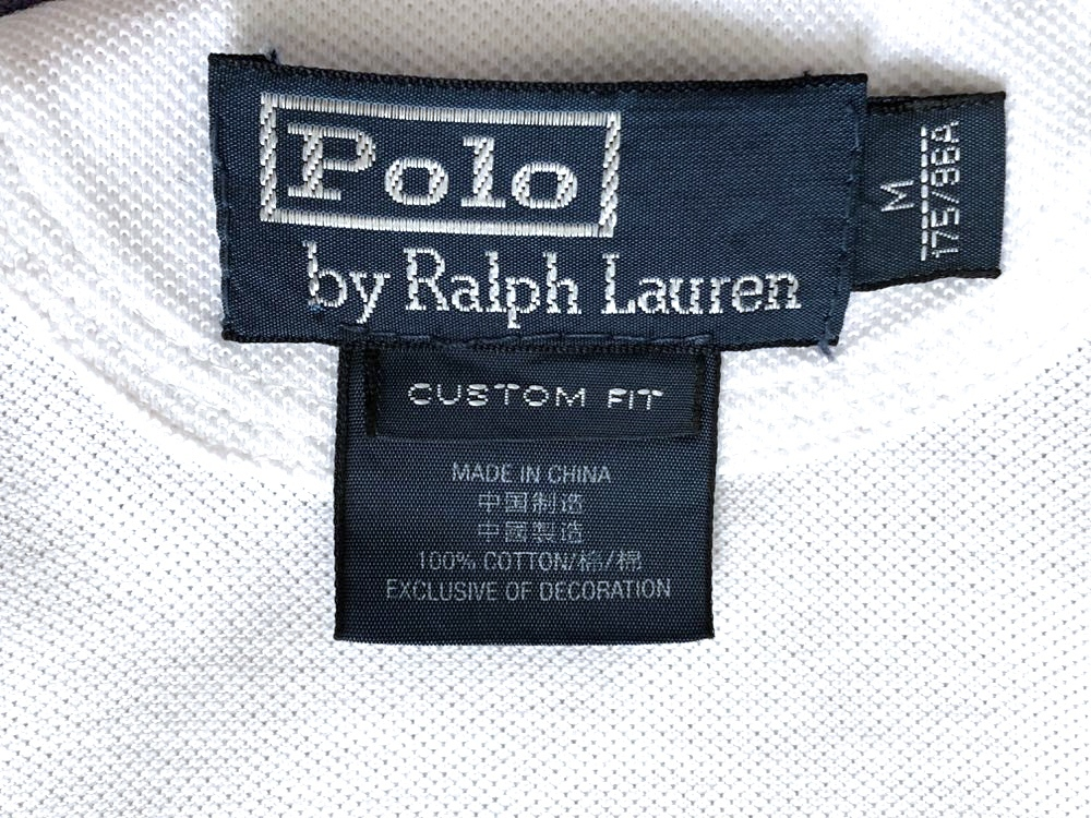 ポロ ラルフローレン ビッグポロ 3ナンバリング 半袖ポロシャツ サイズ M 175/98A POLO by RALPH LAUREN_画像4