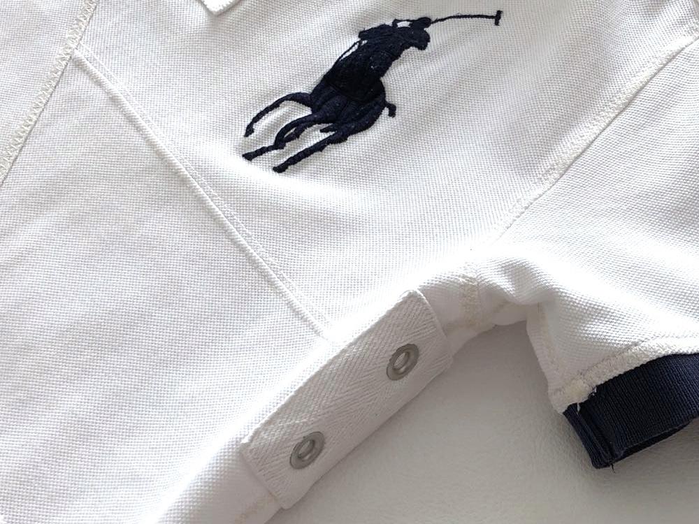 ポロ ラルフローレン ビッグポロ 3ナンバリング 半袖ポロシャツ サイズ M 175/98A POLO by RALPH LAUREN_画像5