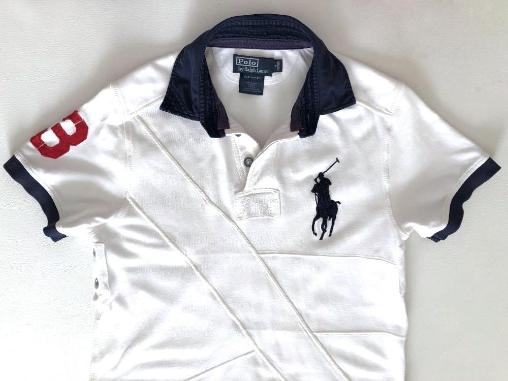 ポロ ラルフローレン ビッグポロ 3ナンバリング 半袖ポロシャツ サイズ M 175/98A POLO by RALPH LAUREN_画像3