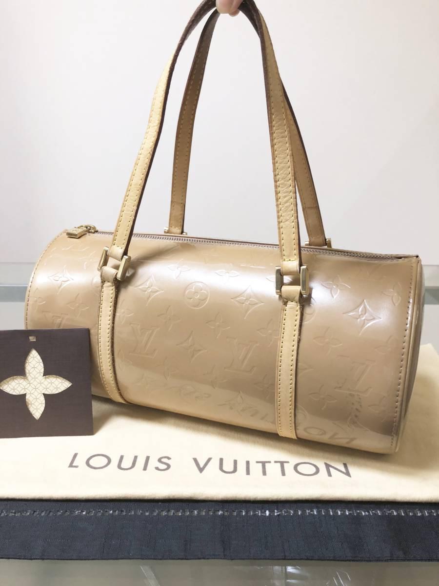 ◆ 超美品 ◆ ルイヴィトン LOUIS VUITTON ヴェルニ ライン 大きめ バッグ