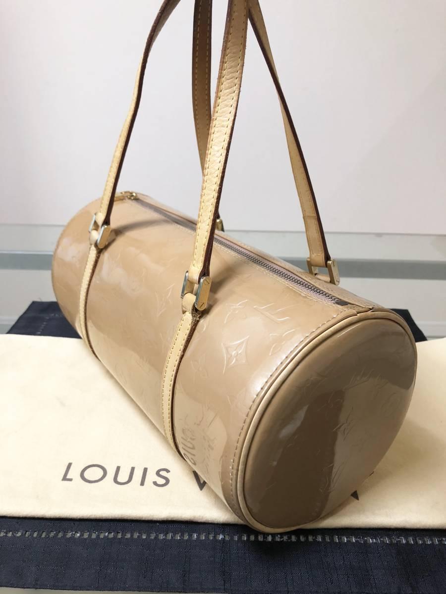 ◆ 超美品 ◆ ルイヴィトン LOUIS VUITTON ヴェルニ ライン 大きめ バッグ_画像2