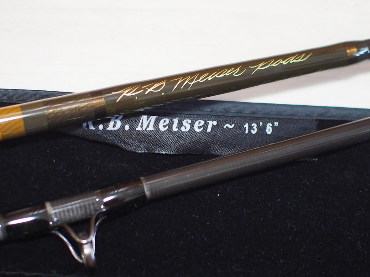 R.B.Meisor ボブ・マイザー MKS13678-4 中古美品 訳あり格安 送料無料 スカジットロッド スチールヘッド遠征に