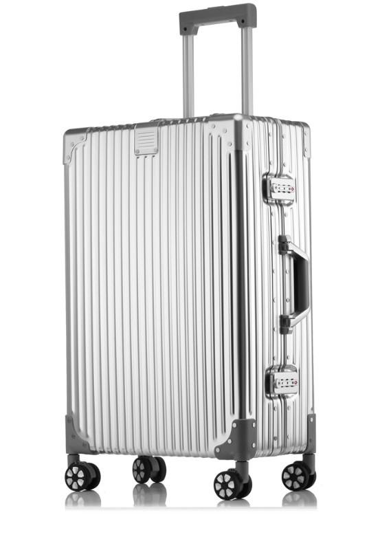 新品 上級絶品★航空級 アルミマグネシウム合金キャリーケース 強い耐圧 TSAロック搭載 スーツケース トランク 海外旅行 20インチ M162