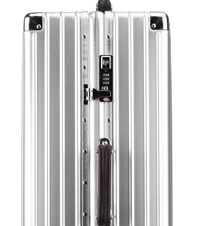 新品 上級絶品★航空級 アルミマグネシウム合金キャリーケース 強い耐圧 TSAロック搭載 スーツケース トランク 海外旅行 20インチ M162_画像4