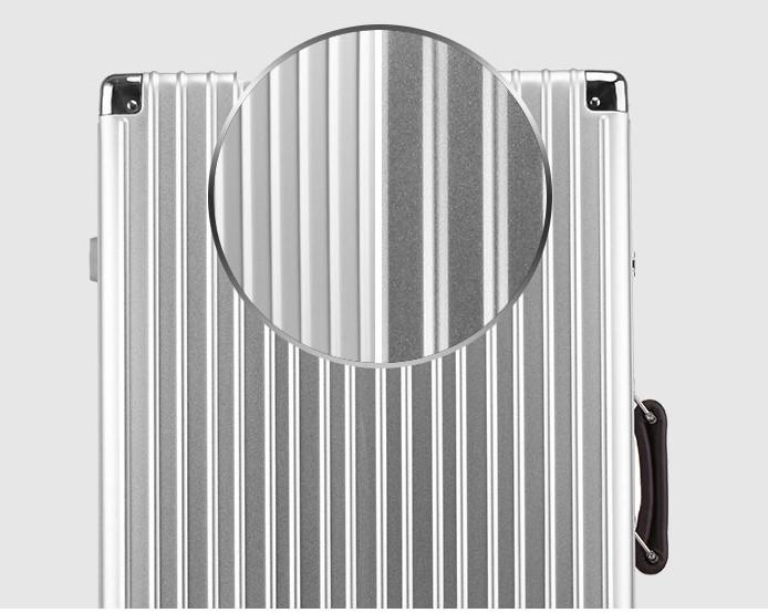 新品 上級絶品★航空級 アルミマグネシウム合金キャリーケース 強い耐圧 TSAロック搭載 スーツケース トランク 海外旅行 20インチ M162_画像6