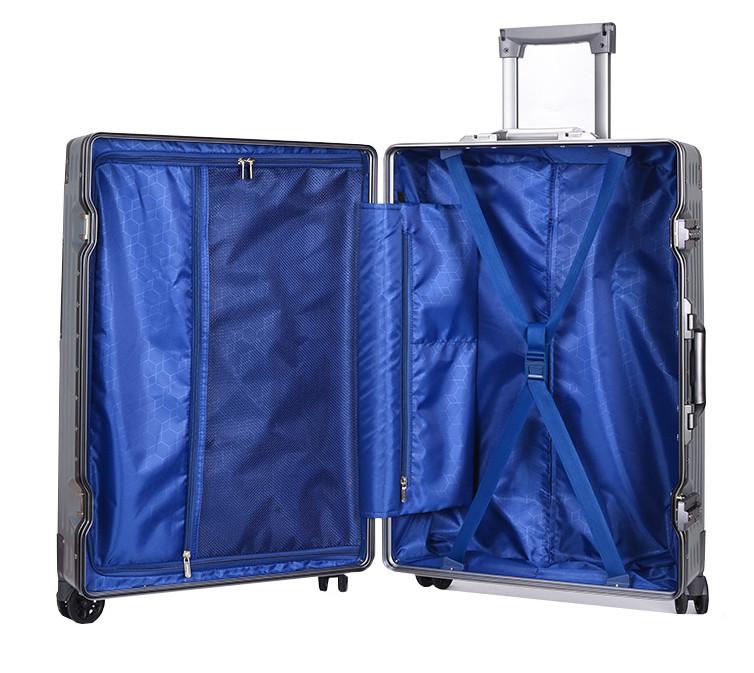 新品未使用【定価58万】航空級アルミマグネシウム合金キャリーケース 強い耐圧 TSAロック搭載 スーツケース トランク海外旅行20インチMV158_画像8