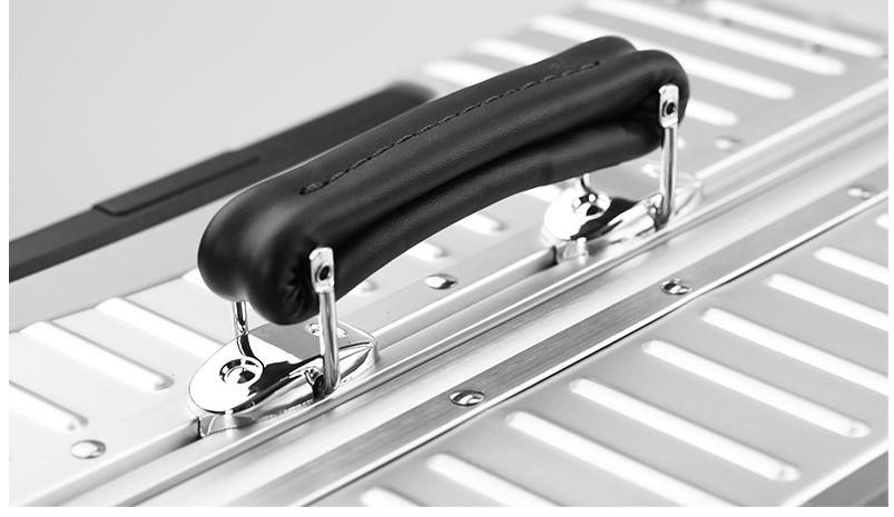 新品 上級絶品★航空級 アルミマグネシウム合金キャリーケース 強い耐圧 TSAロック搭載 スーツケース トランク 海外旅行 20インチ M162_画像7