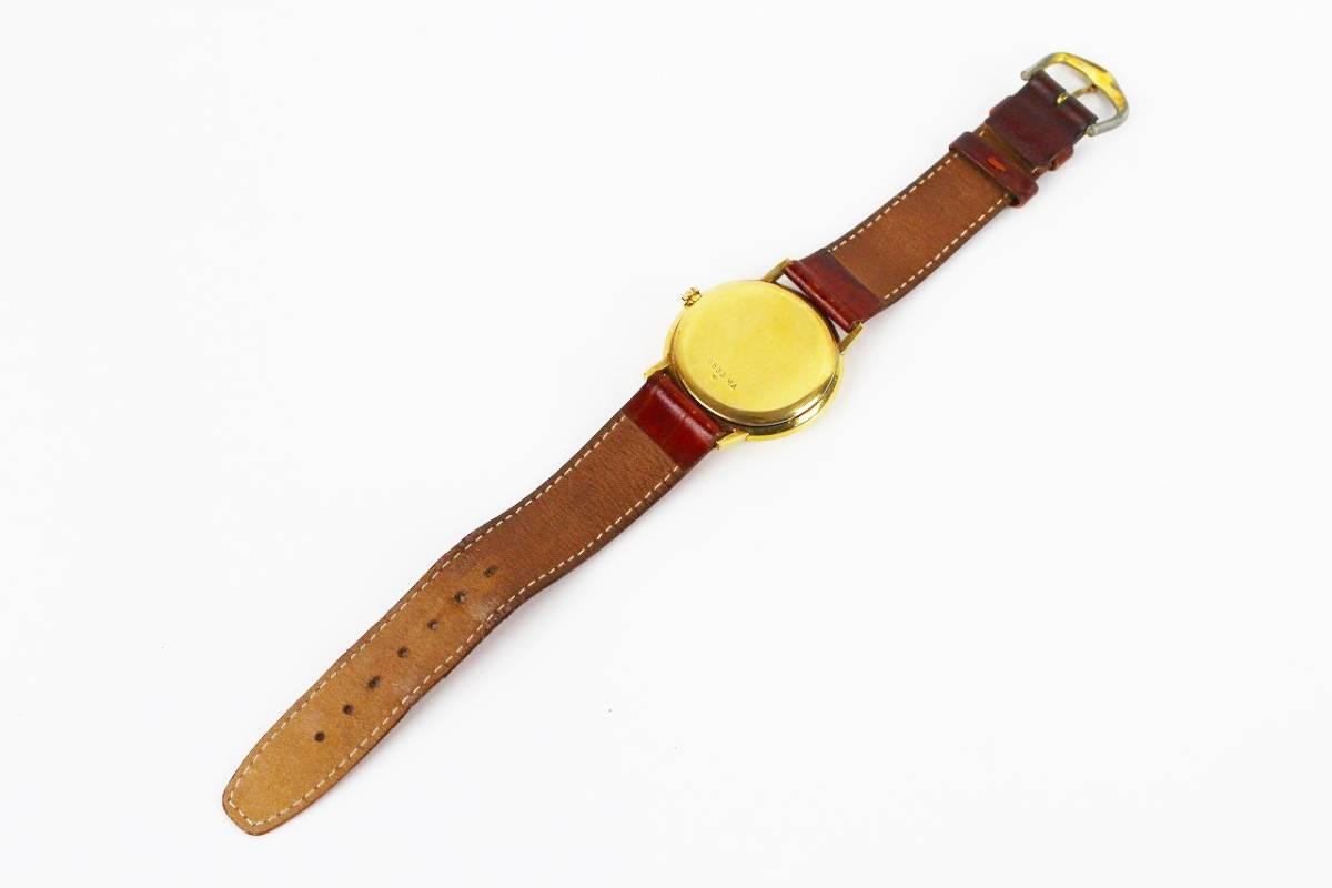 ◆1円スタート◆ジラール ペルゴ 【GIRARD-PERREGAUX】750刻印 メンズ手巻き時計 17石◆ジャンク品◆ビンテージ◆_画像5