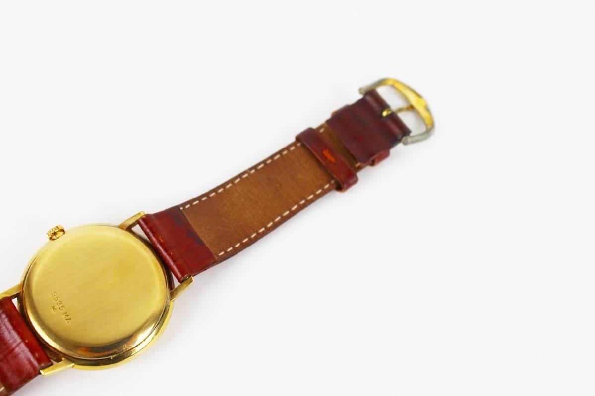 ◆1円スタート◆ジラール ペルゴ 【GIRARD-PERREGAUX】750刻印 メンズ手巻き時計 17石◆ジャンク品◆ビンテージ◆_画像6