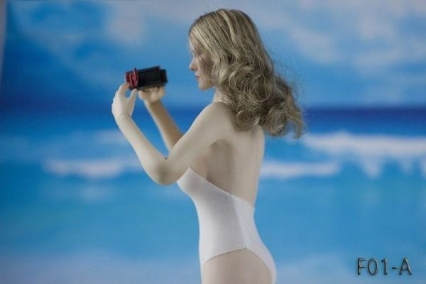 1/6 FOCUSTOYS F01-A 女性フィギュア用 水着 ビキニ 服_画像2