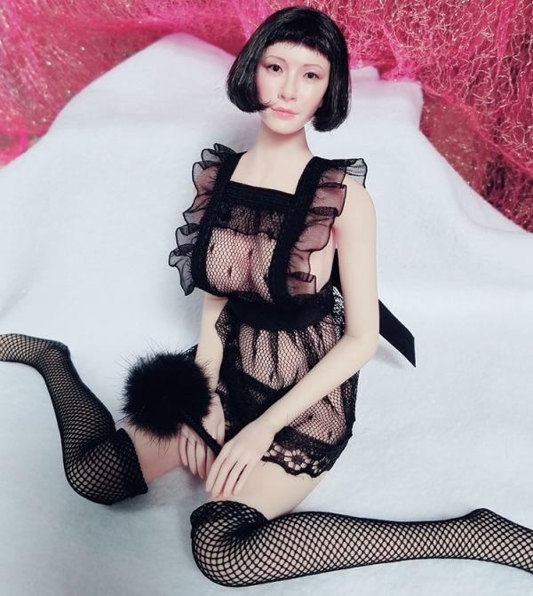 1/6 女性フィギュア用 セクシーメイドコスチュームセット 服_画像1