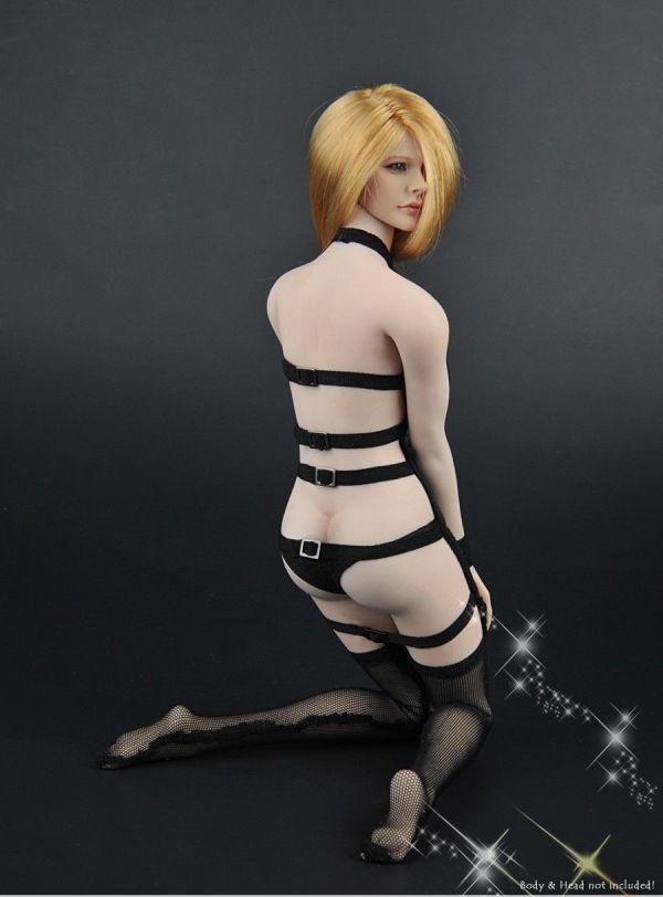 1/6 ZYTOYS ZY-5017 女性フィギュア用 メッシュセクシーコスチュームセット 服_画像8