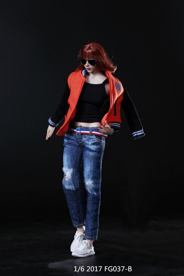 1/6 Fire Girl Toys FG037 女性フィギュア用 スポーティコスチュームセットB 服_画像2