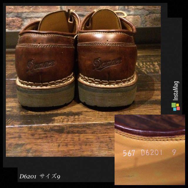 送料無料/Danner×安藤製靴 / D6201 9(約27㎝)チロリアン 短靴 マウンテン 250 8.5 限定 2104 2105 ダナージャパン_画像7