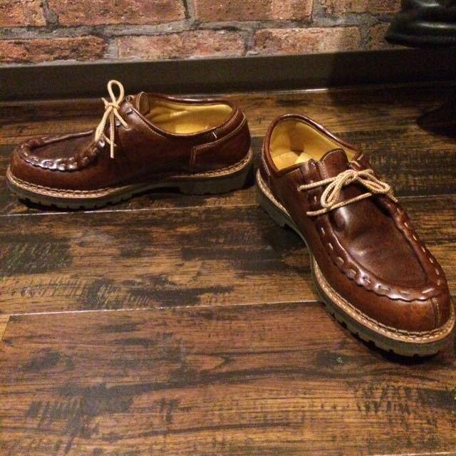送料無料/Danner×安藤製靴 / D6201 9(約27㎝)チロリアン 短靴 マウンテン 250 8.5 限定 2104 2105 ダナージャパン_画像4