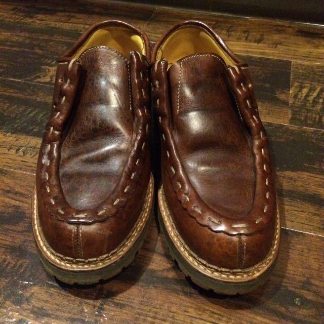 送料無料/Danner×安藤製靴 / D6201 9(約27㎝)チロリアン 短靴 マウンテン 250 8.5 限定 2104 2105 ダナージャパン_画像3