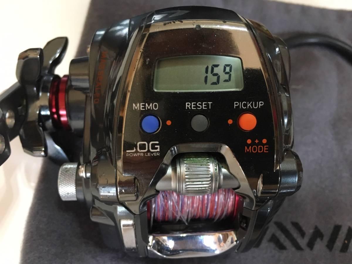 ☆1円☆ ダイワ Daiwa シーボーグ200J-L 左ハンドル インチク スロージギング スロージグ 鯛ラバ タフバッテリー 1200Ⅳ 12V 12Ah_画像7