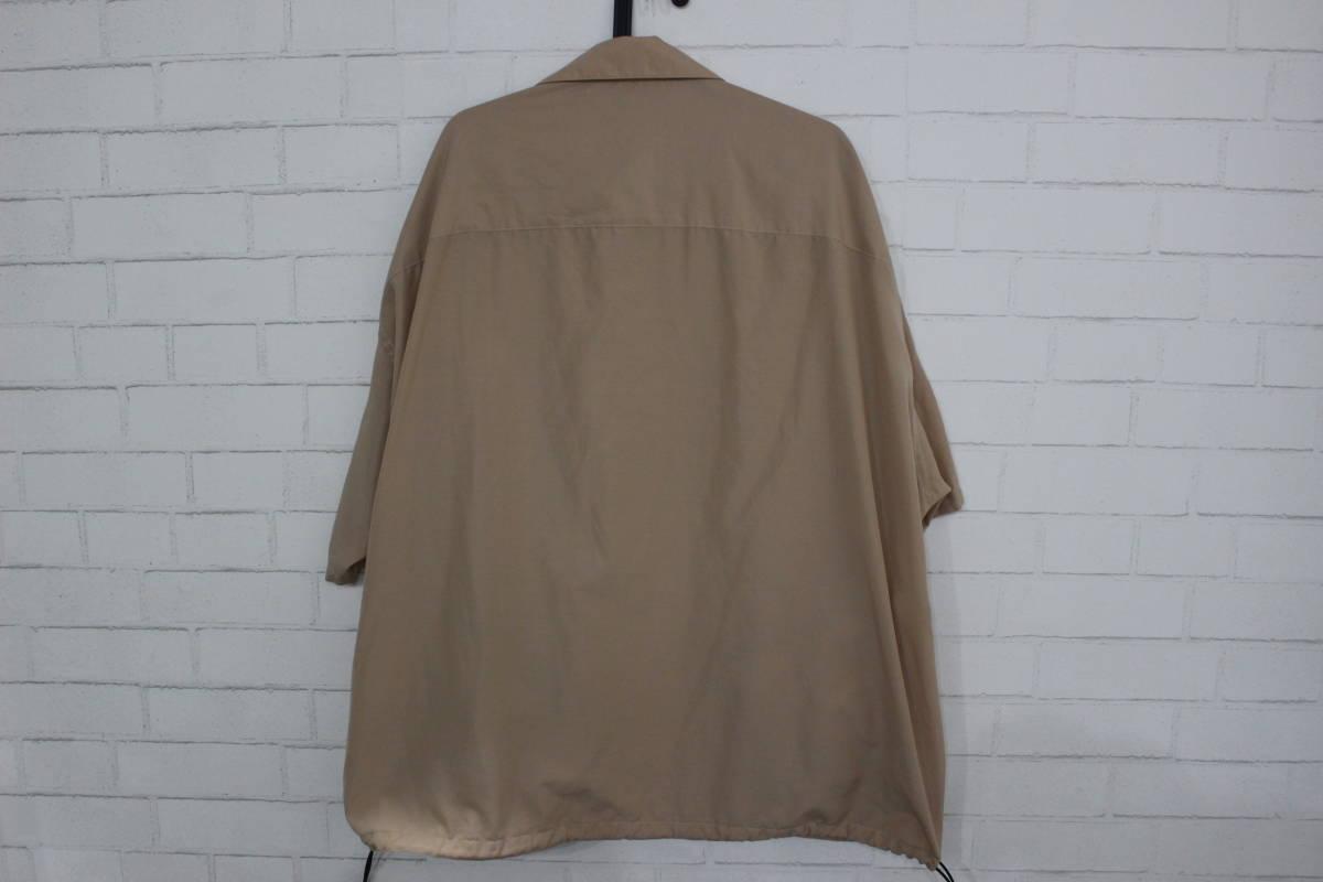 19SS ミスターハリウッド COLLECTION LINE OVERSIZED SHORT SLEEVE SHIRT エヌハリウッド オーバーサイズシャツ ミスターハリウッド正規品_画像7