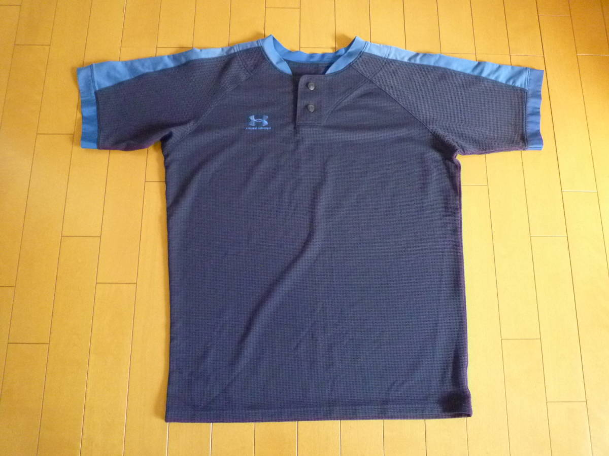 アンダーアーマー2ボタンシャツ(中古)