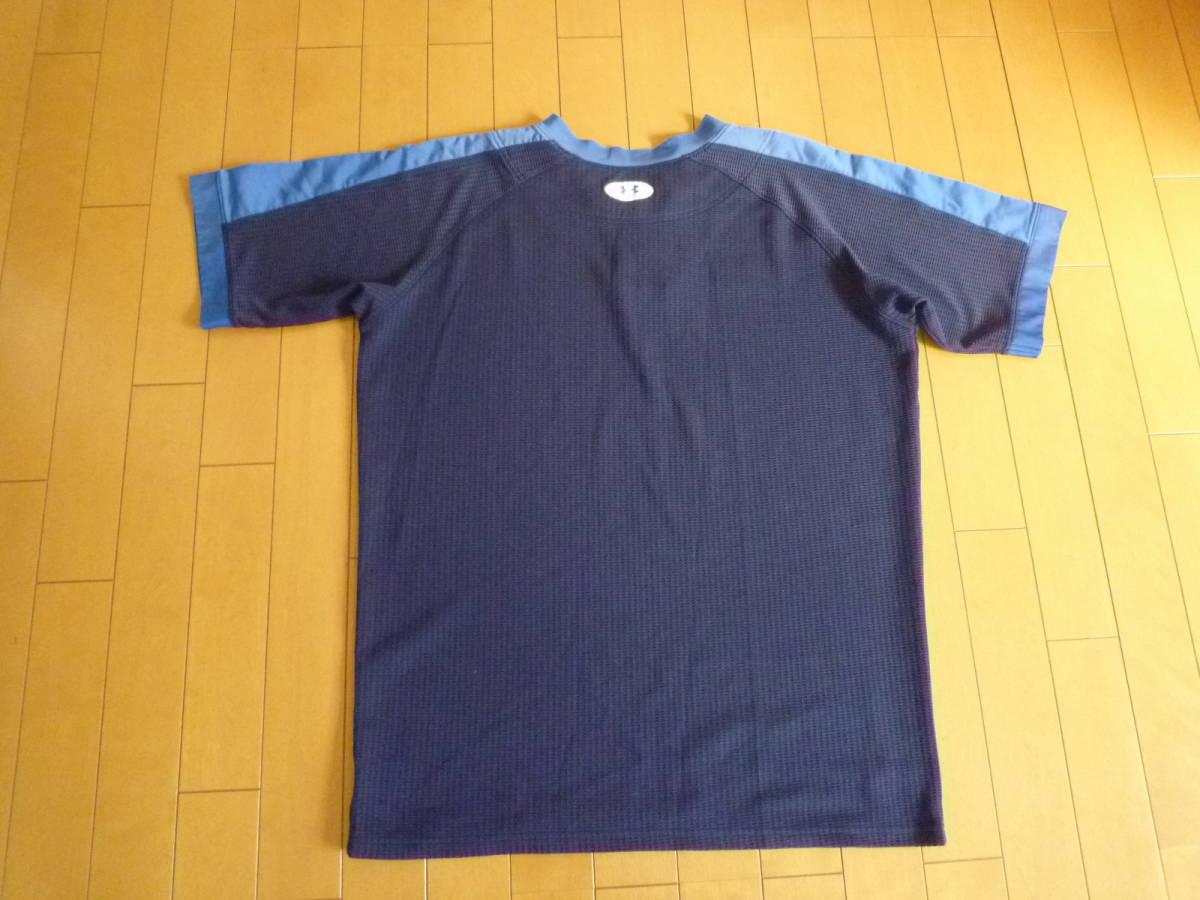 アンダーアーマー2ボタンシャツ(中古)_画像2