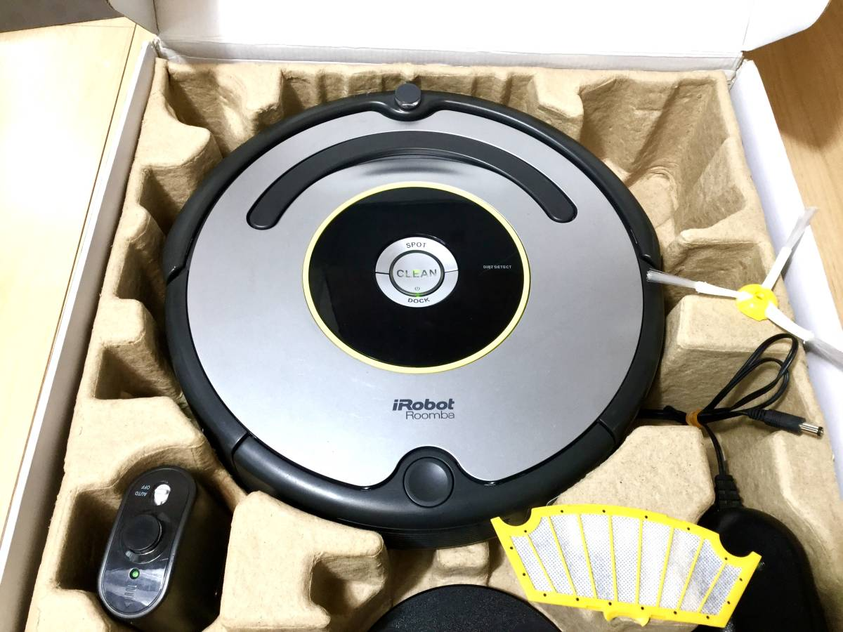 ultimate beautiful goods! current model roomba robot vacuum cleaner iRobot Roomba630! main roller . main brush new goods! battery new goods!