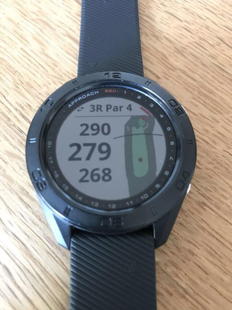 (バンドおまけ)ガーミン Garmin approach s60 golf watch ゴルフ 時計