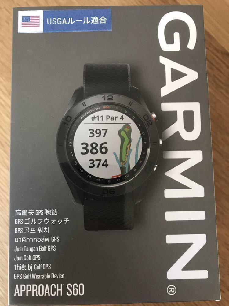 (バンドおまけ)ガーミン Garmin approach s60 golf watch ゴルフ 時計_画像6