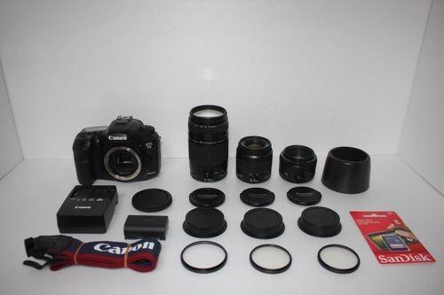 Canon EOS 7D MarkⅡ 単焦点&標準&望遠トリプルレンズ Canon デジタル一眼レフカメラ EOS 7D MarkII