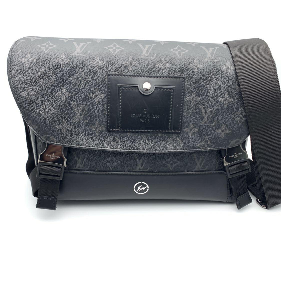 1円 Louis Vuitton × fragment design ヴァージル 伊勢丹 メッセンジャーヴォワヤージュ
