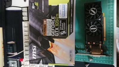 MSI GeForce GTX 1050 Ti 4GT LP グラフィックスボード LPモデル VD6238_画像2